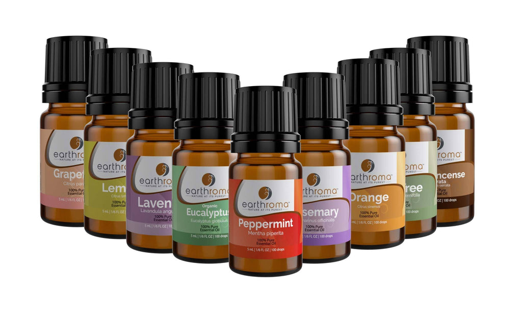 Starter Essential Oil Gift Set (9 Pack) Earthroma $39.97