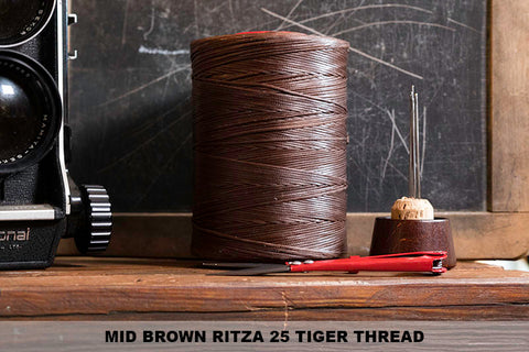 Mid Brown Ritza 25 Thread