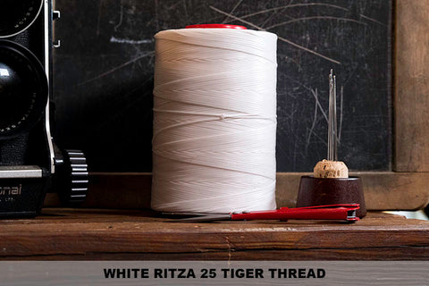 White Ritza 25 Thread