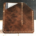 C & C Caddy in Brown Vintage Horsefront with Beige Thread
