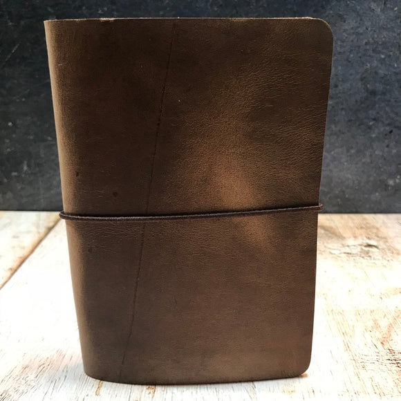 Travelers Notebook Style Pocket Size Notebook Cover in Natural CXL