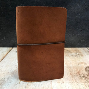 Travelers Notebook Style Pocket Size Notebook Cover in Natural Dublin