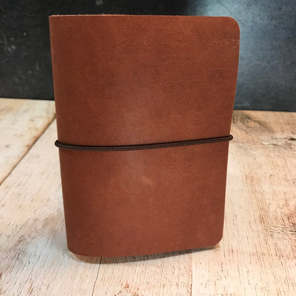 Travelers Notebook Style Passport Cover in Miscellaneous Brown