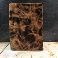 Full Focus Planner Cover in Jungle Brown with Colonial Tan Thread