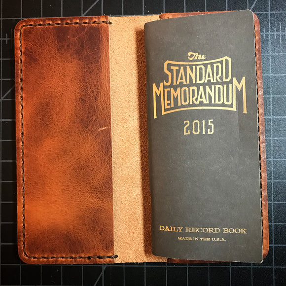 Standard Memorandum Leather Cover - Build Your Own
