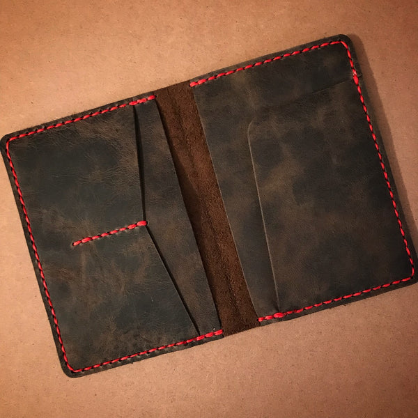 Leather Passport Cover - Build Your Own