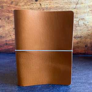 Travelers Notebook Style A5 Sized Cover in Cognac Essex