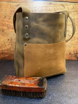 Small Leather Tote Bag - Build Your Own