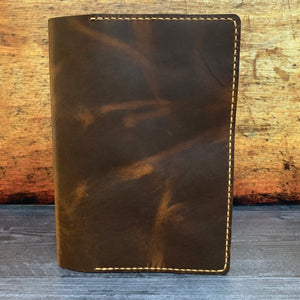 A5 Notebook Cover in Sunset Renegade with Colonial Tan Thread
