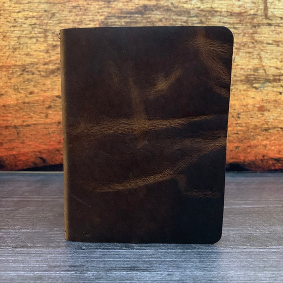 Travelers Notebook Style Passport Cover in Nut Brown Dublin