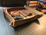 Leather Valet Tray - Build Your Own
