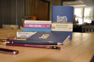 STORY SUPPLY CO.  Pocket Staple Notebook (3-Pack)