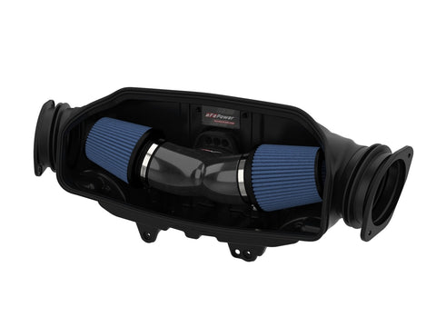 Track Series Carbon Fiber Cold Air Intake System w/Pro 5R Filters