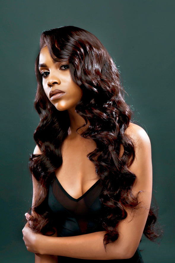 DynastyPremium Hair 4 Bundle Deal - 100% Virgin Human Hair Luxurious Body Wave Extensions