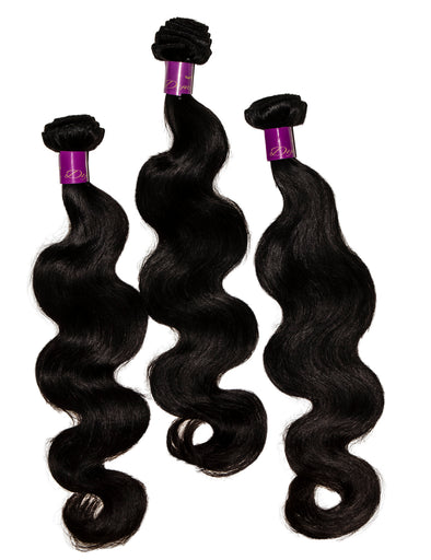 Dynasty Premium Hair 3 Bundle Deal - 100% Virgin Human Hair Luxurious Body Wave Extensions