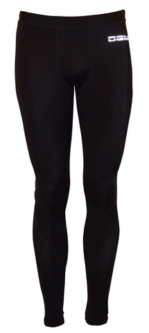 Mens gym Compression legging - Black