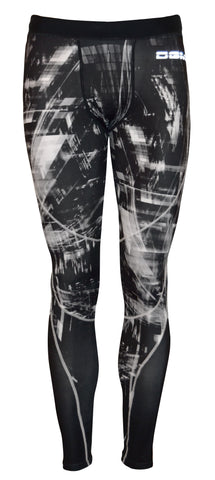 Mens gym Compression legging - City life