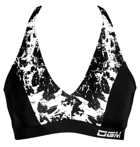 Female gym halter crop top - Indo