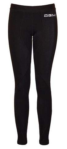 Female gym Compression legging - Black