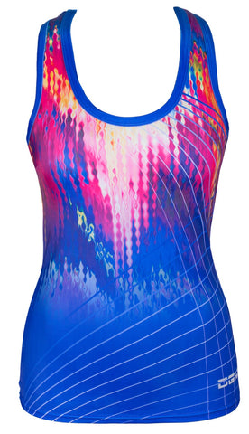 Female gym racerback vest - Melt