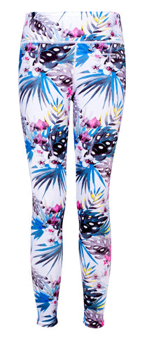 Female gym high waist full legging - Jungle