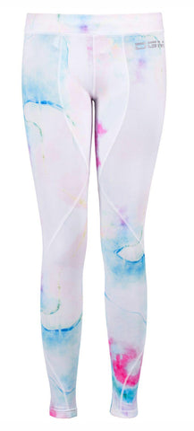 Female gym Compression legging - Marble