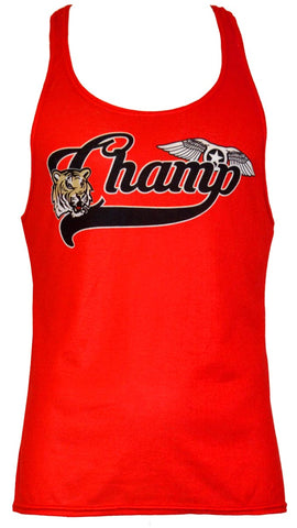 Mens gym stringer vest - Champ