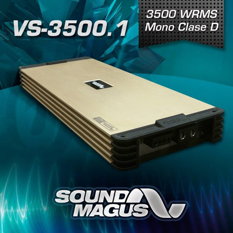 Sound Magus VS Series 3500W RMS Mono Amplifier VS-3500.1