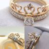 Heart Crown Ring