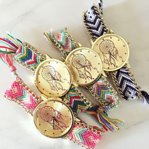 Dreamcatcher Braid Watch
