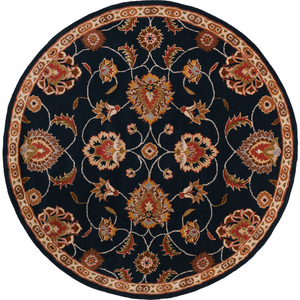 6' Round Area Rugs