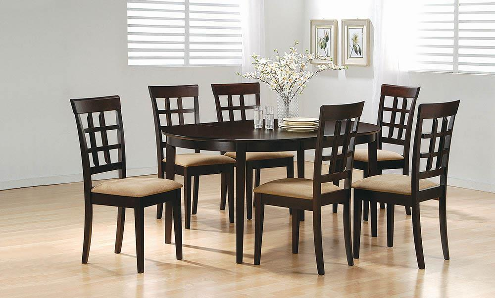 G100770 - Gabriel Oval Dining Set