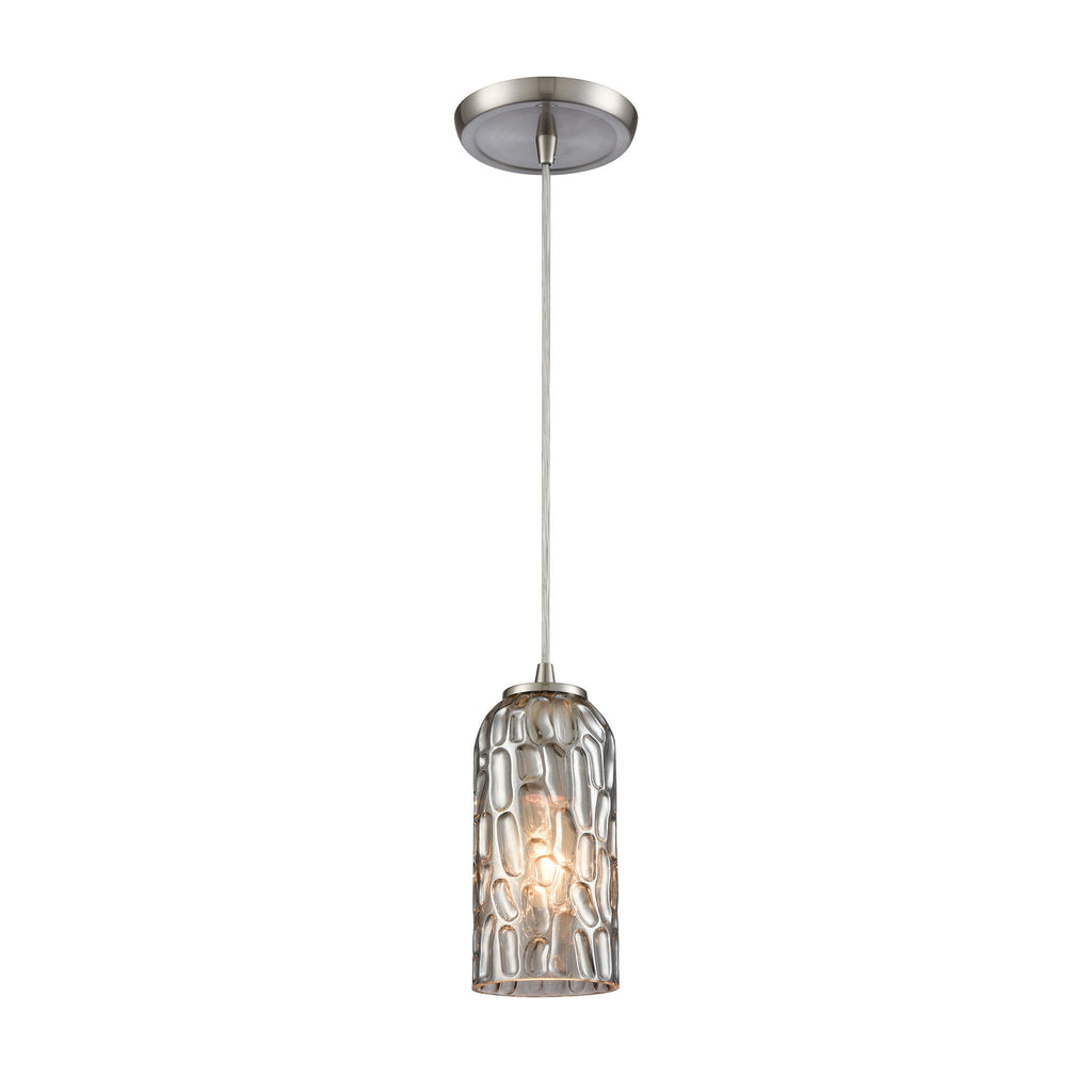 Ansegar - Mini Pendant - Satin Nickel