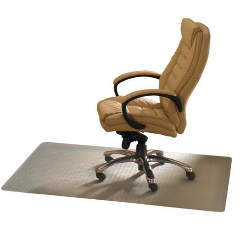 "EcoTex 100% Post Consumer Recycled Rectangular Anti-Slip Chair mat For Hard Floors (48"" X 51""), Floor Mats, FloorTexLLC, - ReeceFurniture.com - Free Local Pick Ups: Frankenmuth, MI, Indianapolis, IN, Chicago Ridge, IL, and Detroit, MI"