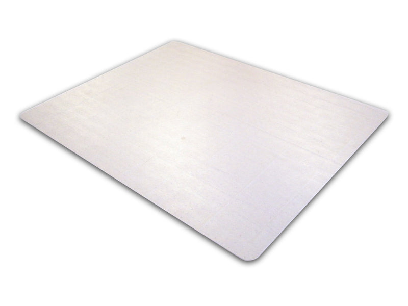 "Cleartex Advantagemat PVC Rectangular Chair mat for Plush Pile Carpets Over 3/4"" (45"" X 53""), Floor Mats, FloorTexLLC, - ReeceFurniture.com - Free Local Pick Ups: Frankenmuth, MI, Indianapolis, IN, Chicago Ridge, IL, and Detroit, MI"