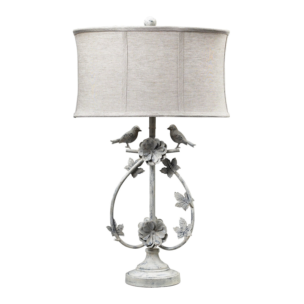 113-1134 Saint Louis Heights Table Lamp in Antique White, Table Lamp, Dimond Lighting, - ReeceFurniture.com - Free Local Pick Ups: Frankenmuth, MI, Indianapolis, IN, Chicago Ridge, IL, and Detroit, MI
