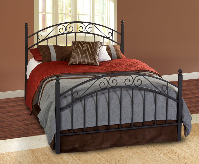 1140 Willow Bed Set - Full - w/Rails, Hillsdale Bedroom, Hillsdale Furniture, - ReeceFurniture.com - Free Local Pick Ups: Frankenmuth, MI, Indianapolis, IN, Chicago Ridge, IL, and Detroit, MI