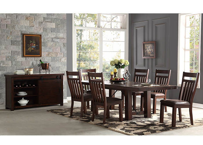 1158 Dining Table With 4 Chairs, Dining, Holland House, - ReeceFurniture.com - Free Local Pick Ups: Frankenmuth, MI, Indianapolis, IN, Chicago Ridge, IL, and Detroit, MI