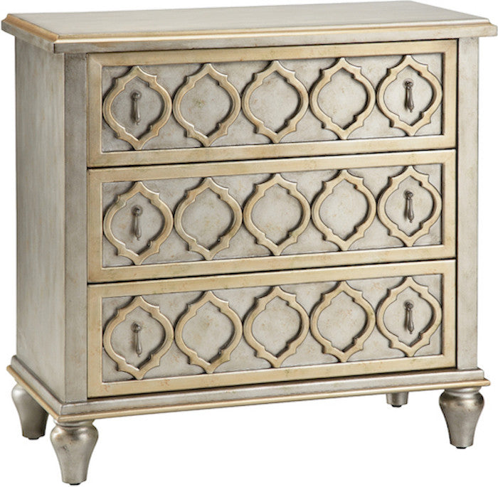 naomi three drawer accent chest free shipping - Accent Chests