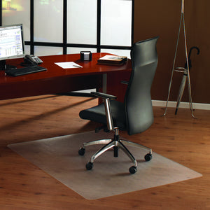 Cleartex Anti-Slip UnoMat Rectangular Chair mat for Polished or High Gloss Hard Floors, Very Low Pile Carpets and Carpet Tiles, Floor Mats, FloorTexLLC, - ReeceFurniture.com - Free Local Pick Ups: Frankenmuth, MI, Indianapolis, IN, Chicago Ridge, IL, and Detroit, MI