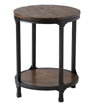 12356 - Kristin Round Accent Table, Accent Tables, Stein World, - ReeceFurniture.com - Free Local Pick Ups: Frankenmuth, MI, Indianapolis, IN, Chicago Ridge, IL, and Detroit, MI