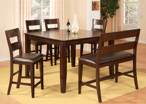 1289 Hardy Pub - Pub Table & 6 Pub Chairs, Pub Dining, American Imports, - ReeceFurniture.com - Free Local Pick Ups: Frankenmuth, MI, Indianapolis, IN, Chicago Ridge, IL, and Detroit, MI