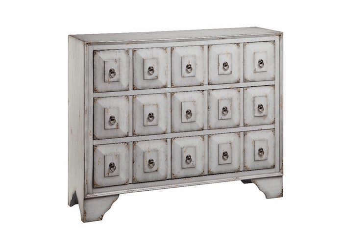 13085 - Mohala Three Drawer Chest, Accent Chests, Stein World, - ReeceFurniture.com - Free Local Pick Ups: Frankenmuth, MI, Indianapolis, IN, Chicago Ridge, IL, and Detroit, MI