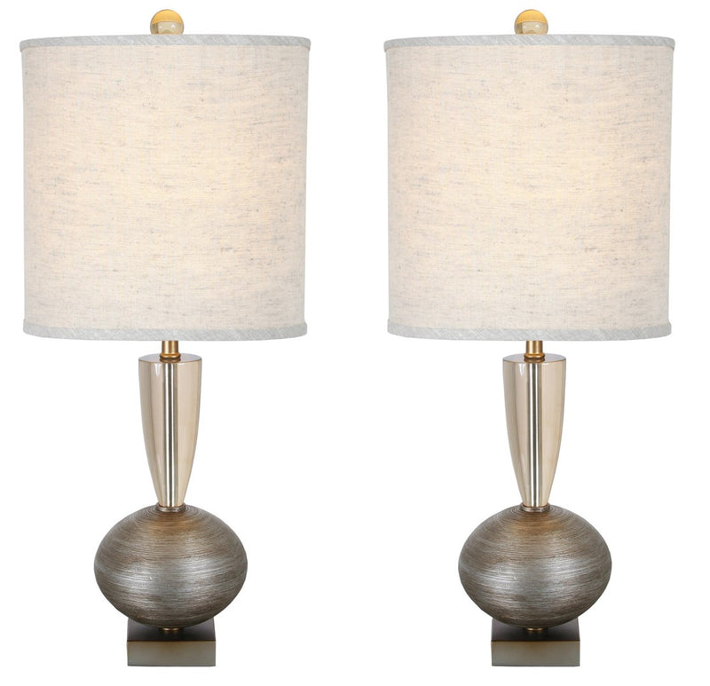 "Van Teal 130972PR Ofir 33"" Table Lamps (Set of 2)"