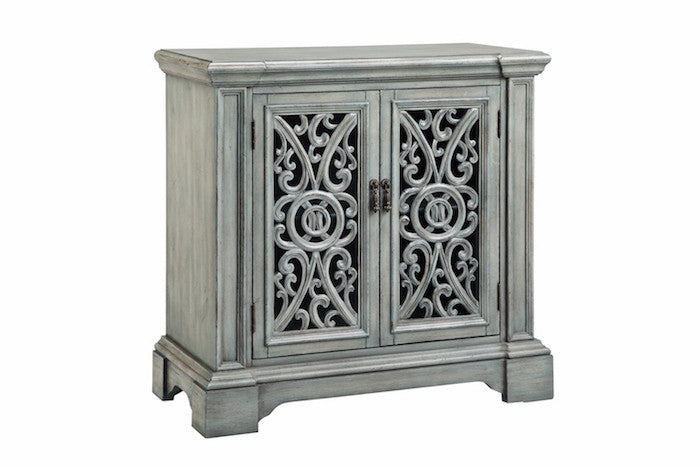 13148 - Audra Two Door Accent Cabinet - Free Shipping!, Accent Cabinets, Stein World, - ReeceFurniture.com - Free Local Pick Ups: Frankenmuth, MI, Indianapolis, IN, Chicago Ridge, IL, and Detroit, MI
