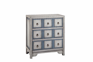 13167 - Adley Three Drawer Accent Chest, Accent Chests, Stein World, - ReeceFurniture.com - Free Local Pick Ups: Frankenmuth, MI, Indianapolis, IN, Chicago Ridge, IL, and Detroit, MI