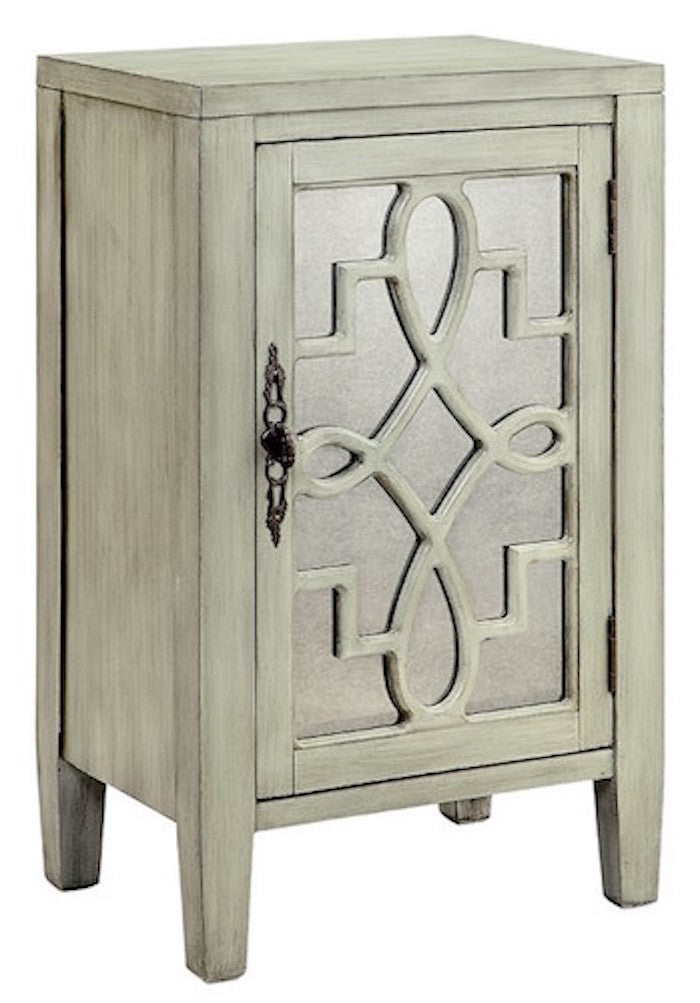 13513 - Leighton One Door Accent Cabinet, Accent Cabinets, Stein World, - ReeceFurniture.com - Free Local Pick Ups: Frankenmuth, MI, Indianapolis, IN, Chicago Ridge, IL, and Detroit, MI