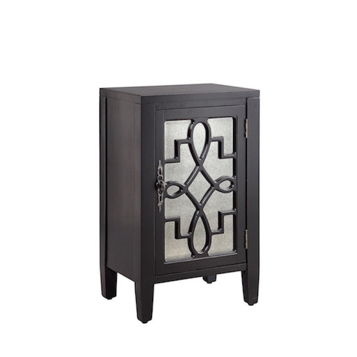 13516 - Leighton One Door Accent Cabinet, Accent Cabinets, Stein World, - ReeceFurniture.com - Free Local Pick Ups: Frankenmuth, MI, Indianapolis, IN, Chicago Ridge, IL, and Detroit, MI