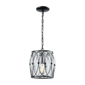 Adriano - Mini Pendant - Gloss Black