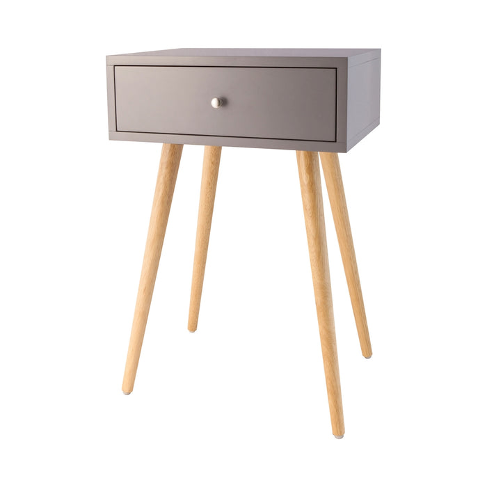 1572-006 Astro Accent Table In Cool Grey